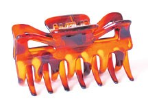 #6011-T - CLAW CLAMPS 6 CM (3)- 12 cards (1 dozen) in a packet