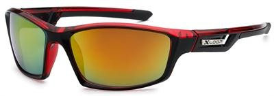 XL2446- MIX - XLOOP SPORTS SUNGLASSES - MIXED COLOURS - 12 pairs in a box