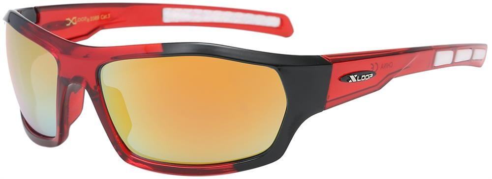 XL2569 - MIX - XLOOP SPORTS SUNGLASSES - MIXED COLOURS - 12 pairs in a box