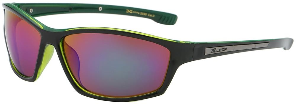XL2595 - MIX - XLOOP SPORTS SUNGLASSES - MIXED COLOURS - 12 pairs in a box