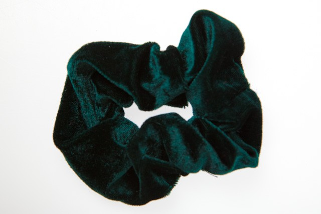 941238G -GREEN SCRUNCHY LARGE (2)- 12 cards (1 dozen) in a packet