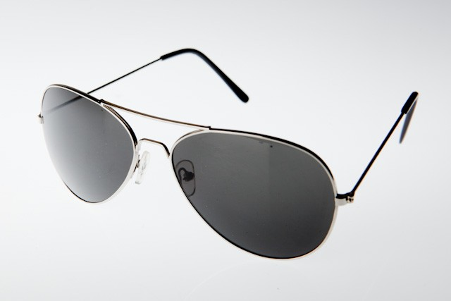 M-020S - AVIATOR SILVER- 12 pairs (1 dozen) in a box