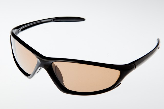 P-100169 - POLARISED - BLACK/BROWN LENS-