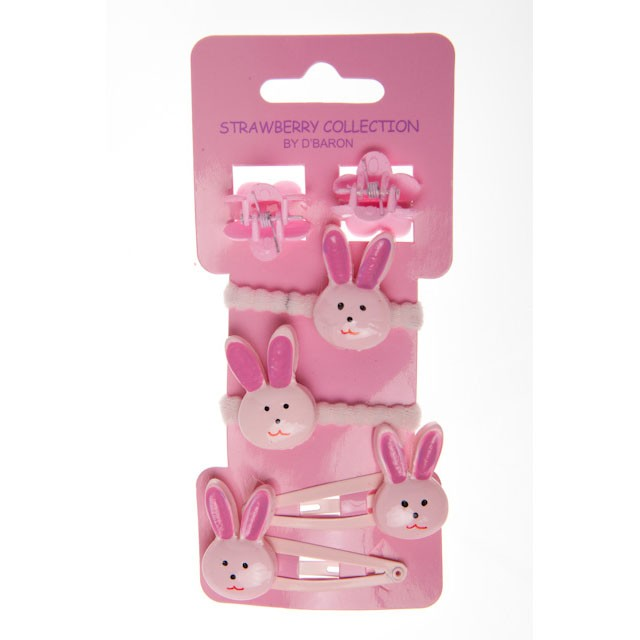 HOT-241 - RABBITS SETS - 12 sets (1 dozen) in a packet