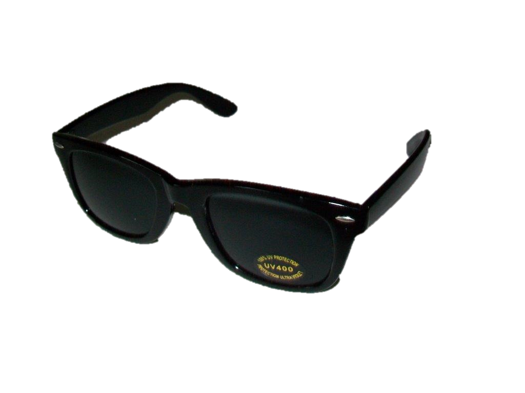 P-060SBS -Shinny Black, Smoke Lens - W/F- 12 pairs (1 dozen) in a box