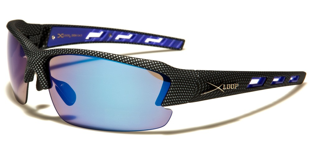 XL2524- MIX - XLOOP SPORTS SUNGLASSES - MIXED COLOURS - 12 pairs in a box