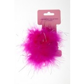 4972 - FLUFFY GLITTER ELASTICS - 12 cards (1 dozen) in a packet