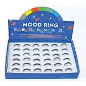 SMR3487 - RING TRAYS MOOD BAND - 36 Rings (3 dozen) in a display tray