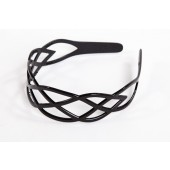7284B - HEADBAND TRELLIS PATTERN PLASTIC- 12 headbands (1 dozen) in a packet