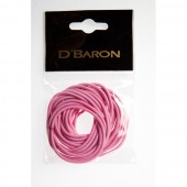 CBS-003-PI - PINK ELASTICS THIN (24) - 12 packets (1 dozen) in a packet