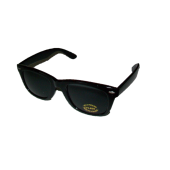 P-060SBS -Shinny Black, Smoke Lens - W/F