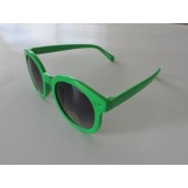 P-1414 - NEON GREEN/SMOKE GRADIENT - 12 pairs in a box